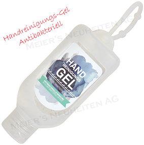Werbeartikel Handdesinfiketions Flasche antibakteriell 50ml
