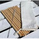 Werbeartikel Trinkhalm Bambus